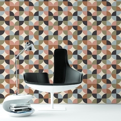 Tapeta na ścianę - pastel quarter , rodzaj - tapeta flizelinowa