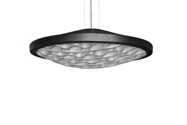 Lzf :: lampa wisząca cervantes czarna ze ściemniaczem śr. 70 cm