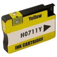 Tusz zamiennik 711 do hp cz132a żółty - darmowa dostawa w 24h