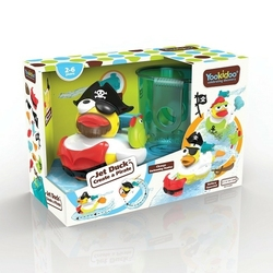 Zabawka do kąpieli yookidoo - odrzutowa kaczka pirat