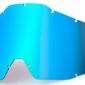 100 procent szybka do gogli niebieskie lustro anti fog