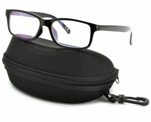 Okulary antyrefleksyjne zerówki nerdy prostokątne dr-115-c1