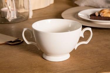 Bulionówka  flaczarka porcelana mariapaula ecru