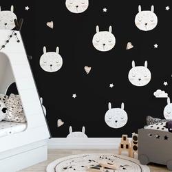 Tapeta dla dzieci - bunny dreams , rodzaj - próbka tapety 50x50cm