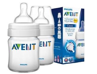 Avent butelka classic 125ml 56017