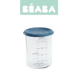 Słoiczek beaba z hermetycznym zamknięciem 120 ml - blue