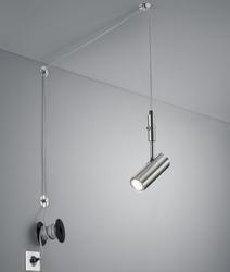 Regulowana lampa z podłużnym kloszem carla