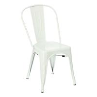 Krzesło paris inspirowane tolix - biały