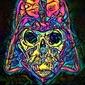 Psychoskulls, darth vader, star wars gwiezdne wojny - plakat wymiar do wyboru: 40x50 cm