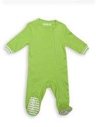 Pajacyk dla dziecka - zielony 3-6 m
