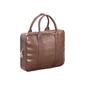 Stylowa torba biznesowa na laptop brązowa sempertus