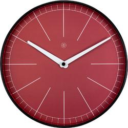 Zegar ścienny czerwony Axel nXt 25 cm 7323