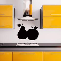073 gruszka jabłko naklejka tablicowa