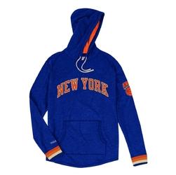 Bluza z kapturem mitchell  ness nba new york knicks lightweight hoodie
