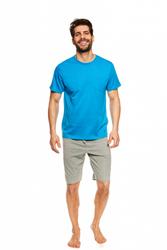 Henderson Universe 36600-55X Niebiesko-szara piżama męska