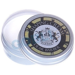 Dear barber travel tin shaping cream matująca pasta do stylizacji zarostu 20ml