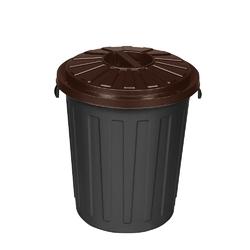 Kosz na śmieci do segregacji keeeper mats 23 l brązowy