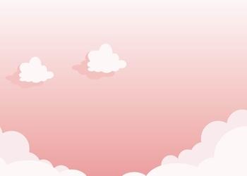 Tablica suchościeralna dla dzieci chmurki 338