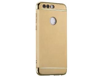 Etui luxury 3w1 huawei honor 8 złote - złoty