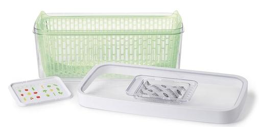 Pojemnik do przechowywania warzyw i owoców w lodówce greensaver oxo 4,7 litra 11140100v2mlnyk