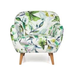 Fotel wypoczynkowy denver actona flower motyw kwiatowy
