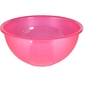 Miska  salaterka plastikowa sagad weekend 30 cm różowa