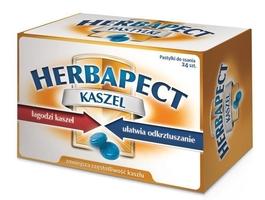 Herbapect kaszel x 24 pastylki do ssania