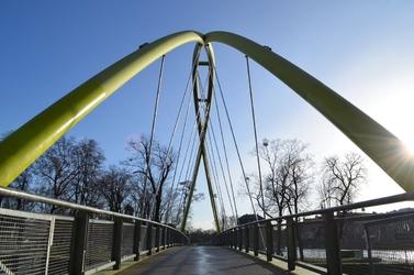 Fototapeta na ścianę nowoczesny most fp 3524