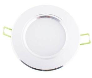 Oprawa sufitowa downlight led 3w - 4000k - neutralny - biała obudowa