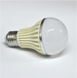 Żarówka LED E27 28x5050 230V 400lm Biała Ciepła