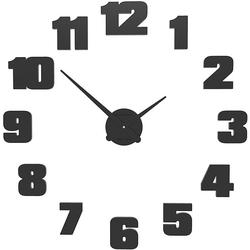 Zegar ścienny raffaello calleadesign czarny 10-308-05