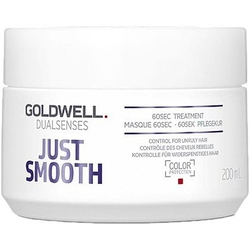 Goldwell just smooth 60 sec treatment, maska do włosów cienkich i łamliwych 200ml