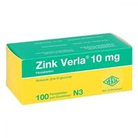 Zink verla 10 mg filmtabl.