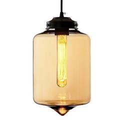 Wisząca lampa london loft 2 co z czterema kloszami