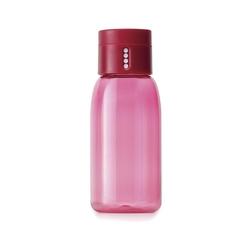 Butelka Dot 0,4 l Joseph Joseph ze wskaźnikiem spożycia wody różowa