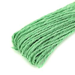 Papierowy sznurek do rękodzieła 30 m - zielony - zielony