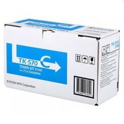 Toner Oryginalny Kyocera TK-570C 1T02HGCEU0 Błękitny - DARMOWA DOSTAWA w 24h