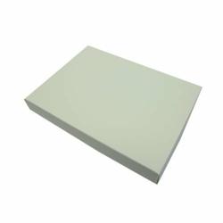 Pudełko na kartkę A6 GoatBox - ecru z fakturą - ecru