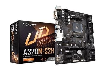 Gigabyte płyta główna a320m-s2h 3.0 am4 a320m 2ddr4 hdmidvid-sub uatx