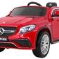 Mercedes gle63 duży czerwony lakier metalik + pilot
