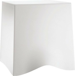 Taboret briq biały