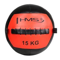 Piłka do ćwiczeń wall ball wlb15 15 kg - hms - 15 kg