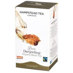 Hampstead | pure darjeeling - herbata czarna saszetki 40g | organic - fairtrade