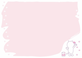 Tablica magnetyczna suchościeralna dla dzieci kotek 321
