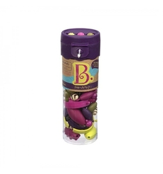 B.toys zestaw do tworzenia biżuterii 50 elementów - fioletowy