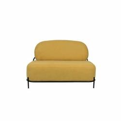 Sofa 2-osobowa POLLY żółta - żółty