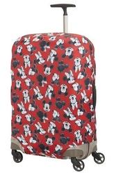 Pokrowiec na walizkę z animacją myszki mini i miki,rozmiar m - mickeyminnie red