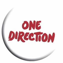 One Direction Text - przypinka