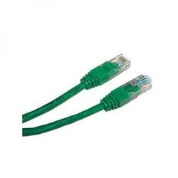 Utp patchcord utp patchcord, cat.5e, rj45 m-0.5m, nieekranowany, zielony, economy