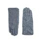 Rękawiczki kudłate szare - SZARE